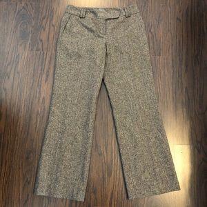 Ann Taylor wool silk blend dress pants signature 8